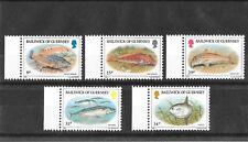 Guernsey 1985 Fish Sg332-336  MNH/UMM