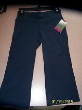 Women's Tek Gear Blue Capri Workout Shapewear pants-Size XS-NWT