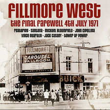 VARIOUS - Fillmore West. The Final Farewell, 1971. New 2CD + Sealed . **NEW**