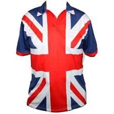 Union Jack Flag Polo Shirt - Medium to XXL M