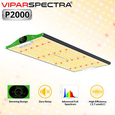 New listing Viparspectra Pro Series P2000 Full Spectrum Led Grow Light for Hydroponic Plants
