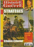 Histoire de Guerre HS n° 6 Hors Série 2002 - Stratèges et stratégie de Napoléon
