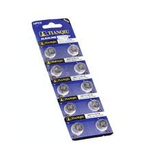 10Pc/Set AG13 LR44 SR44 L1154 357 A76 Durable Alkaline Batteries Button Cells