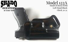 SHADO Leather Holster Model 122A Left Hand Black fits Glock 20 21 Brand Products