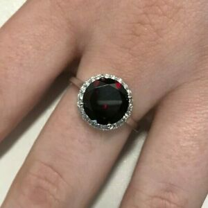 Official Welsh Clogau White Gold Serenade Garnet Ring £990 OFF! SIZE O **RARE**