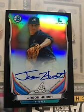 2014 Bowman Chrome Jason Hursh Black Wave Refractor Auto #06/99  BCAP-JHU