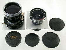 LINHOF Super Technika III 4x5 Super-Angulon 8/90 90 Tele-Xenar 5,5/360 360 Set !