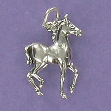 Colt Baby Horse Charm Sterling Silver for Bracelet Equestrian Foal Male