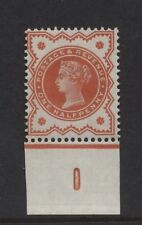 1887 ½d ORANGE JUBILEE CONTROL (I) SINGLE. SG 197