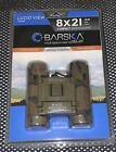 Barska Ab10117 8X 21Mm Lucid View Binoculars Camo Frame Blue Lens Left/Right