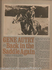 Gene Autry - Back in the Saddle Again (seldom found)
