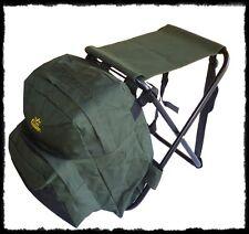 nuovo sedia zaino grande porta accessori da pesca trekking caccia sgabello borsa