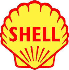 SHELL VINYL STICKER (A094) 4 INCH