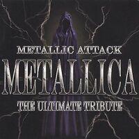 DAMAGED ARTWORK CD Various Artists: Metallic Attack: Metallica Ultimate Tribute