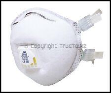 3M 9925 Particulate Respirator Dust Fume Welding Mask Breathing Apparatus Valved