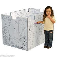 Cardboard Play House (Castle)
