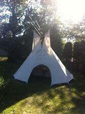 NEW 8' Youth size  CHEYENNE STYLE tipi/teepee w/door&bag