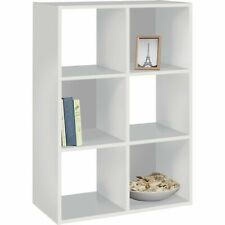 HOME Squares 6 Cube Storage Unit - White.