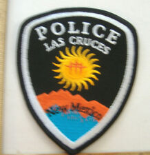 LAS CRUCES NEW MEXICO  POLICE  FABRIC PATCH