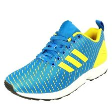 a5a9a0b77a5f5 ADIDAS Originals ZX Flux AQ4531 mens running shoes trainers royal blue  yellow