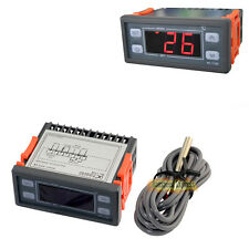 10A 12V DC Digital Temperature Controller Thermostat Control Relay LED Cable 2m