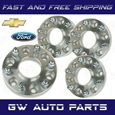 """4 HubCentric Wheel Spacer Adapters 6x135 to 6x5.5 Thick 1.25"""" F150 to Chevy"""