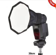 """12"""" 30cm  Photo Selens Speedlite Octagon Umbrella Softbox for Speedlight Flash"""