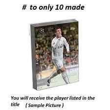 #37 Juan Mata Manch United 2016 Topps UEFA Champions Showcase 5X7 GOLD #/10 made