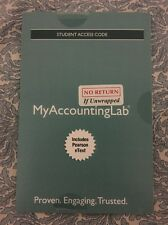Pearsons Financial Accounting MyAccountingLab Pearson Online Code W EText New