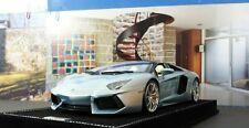 1/18 MR Collection Models Lamborghini Aventador LP700-4 Roadster light blue