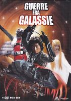 4 Dvd Box Set Cofanetto GUERRE FRA GALASSIE serie completa epis. 1-27 nuovo