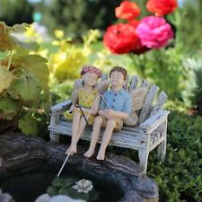 Miniature Dollhouse FAIRY GARDEN - Charlie And Tilly - (No Bench) - Accessories