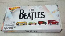 hot wheels the beatles set of 5 CARS + BOX Toys R Us exclusive