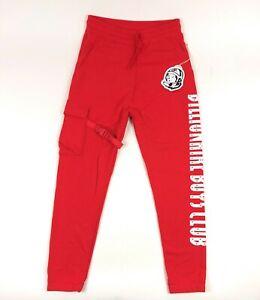 Billionaire Boys Club BB Getaway Sweatpants Mens 2XL XXL Red Cargo Pants Sweats
