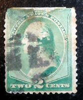 Very Nice 1887 1888 American Banknote Issue Washington 2c Stamp Scott# 213 J214