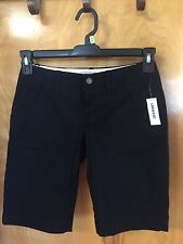 Old Navy Size 0 Black Burmuda Shorts Nice 4 Summer Dressy or Casual NWT