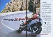 Kawasaki GPX750 Motorcycle 1988 Magazine Advert #1905