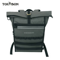 Tourbon Bike RidingTravel Bag Waterproof Nylon Rolltop Cycling Backpack Large