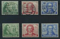 WESTBERLIN 1949 Nr 61-63 postfr + gestempelt (96306)