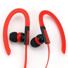 Ecouteurs Bluetooth Universel avec micro et contrôle du volume ROUGE