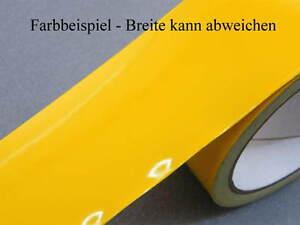 Zierstreifen 5 mm gelb 333 / 332 glänzend Zierlinie Dekorstreifen ca RAL 1003