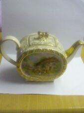 SADLER ART DECO BARREL SHAPED TEAPOT