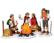 LEMAX Alpine Ski Party / Weihnachtsdorf Winterdorf Modellbau