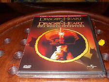 Dragon heart 1 e 2 La nuova avventura Universal Box 2 Dvd ..... Nuovo