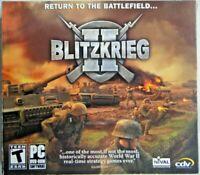 Blitzkrieg II: Return To The Battlefield Game (2007  PC-DVD-Rom Software)