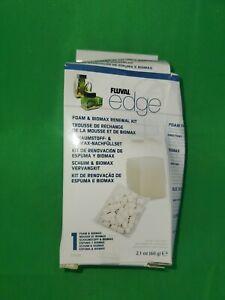 Fluval Edge Replacement Foam & Biomax Filter Aquarium Fish Tank Media Box Damage