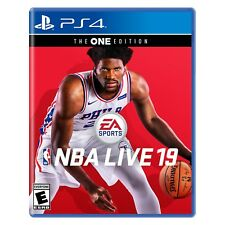 NEW! NBA LIVE 19 (Sony PlayStation 4, 2018, PS4) Factory Sealed! SHIPS 11/26