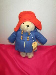 "1981 Vintage Paddington Bear Darkest Peru To London England 15"" Gabriele Designs"