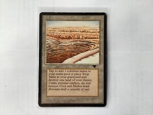 MTG -Strip Mine -Antiquities - NM