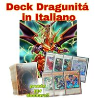 Yu-Gi-Oh! Deck Mazzo Completo - Dragunità - ITALIANO - 40 Carte + Extra deck